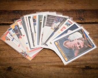 Brett Hull Lot of 20 Hockey Cards, St. Louis Blues Team, Vintage 90s