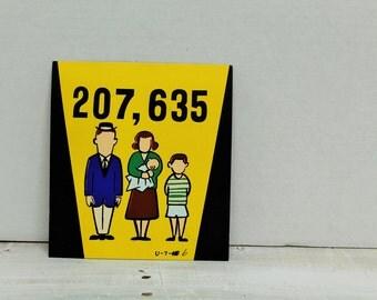 Vintage 1960's Advertising, Comic, Art, Presentation Materials, Family