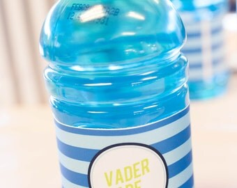 Star Wars Theme Printable Vader Ade Drink Label - Instant Download - Petite Party Studio