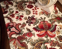 """Floral Table Runner 