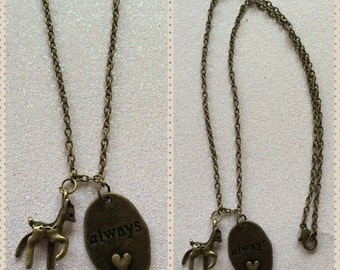 Severus Snape Inspired 'Always' Necklace