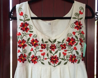 Vintage Mexican Oaxacan dress