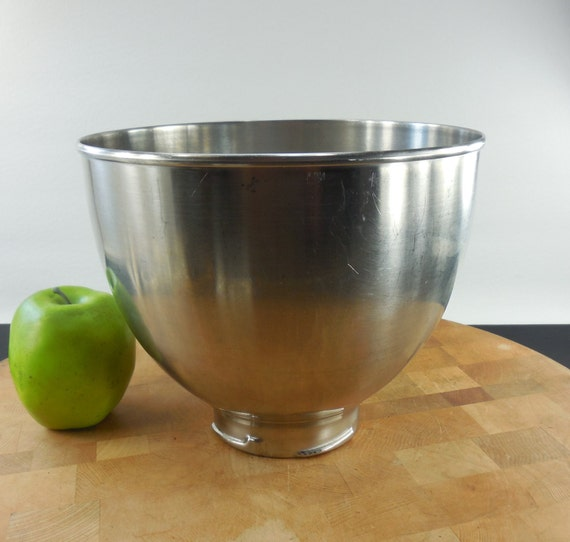 Kitchenaid K45 Stainless Steel Mixer 4 5 Quart Mixing Bowl