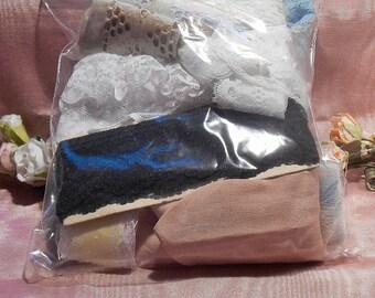 Vintage Lace Trim Bag Lot Craft Supply Cotton Lace  #2