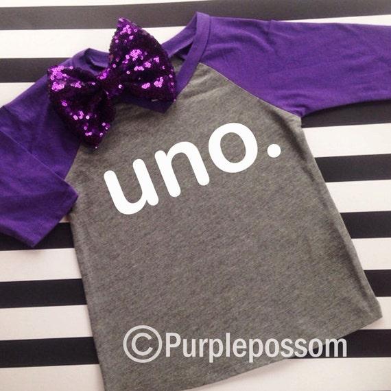 Birthday UNO Kids Birthday Shirt Boy Or Girl Birthday Shirt