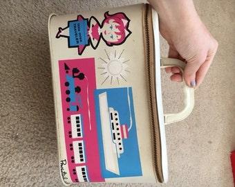 Vintage Little Miss Traveler by Ponytail Case