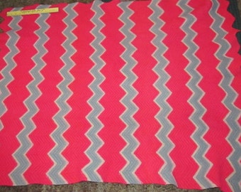Iroquois Wool Blanket 1930-40 home made spun wool knitted blanket family heirloom