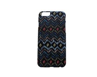 iPhone 5S - iPhone 6 PLUS CASE *Ikat* Matte finish - Sleek design