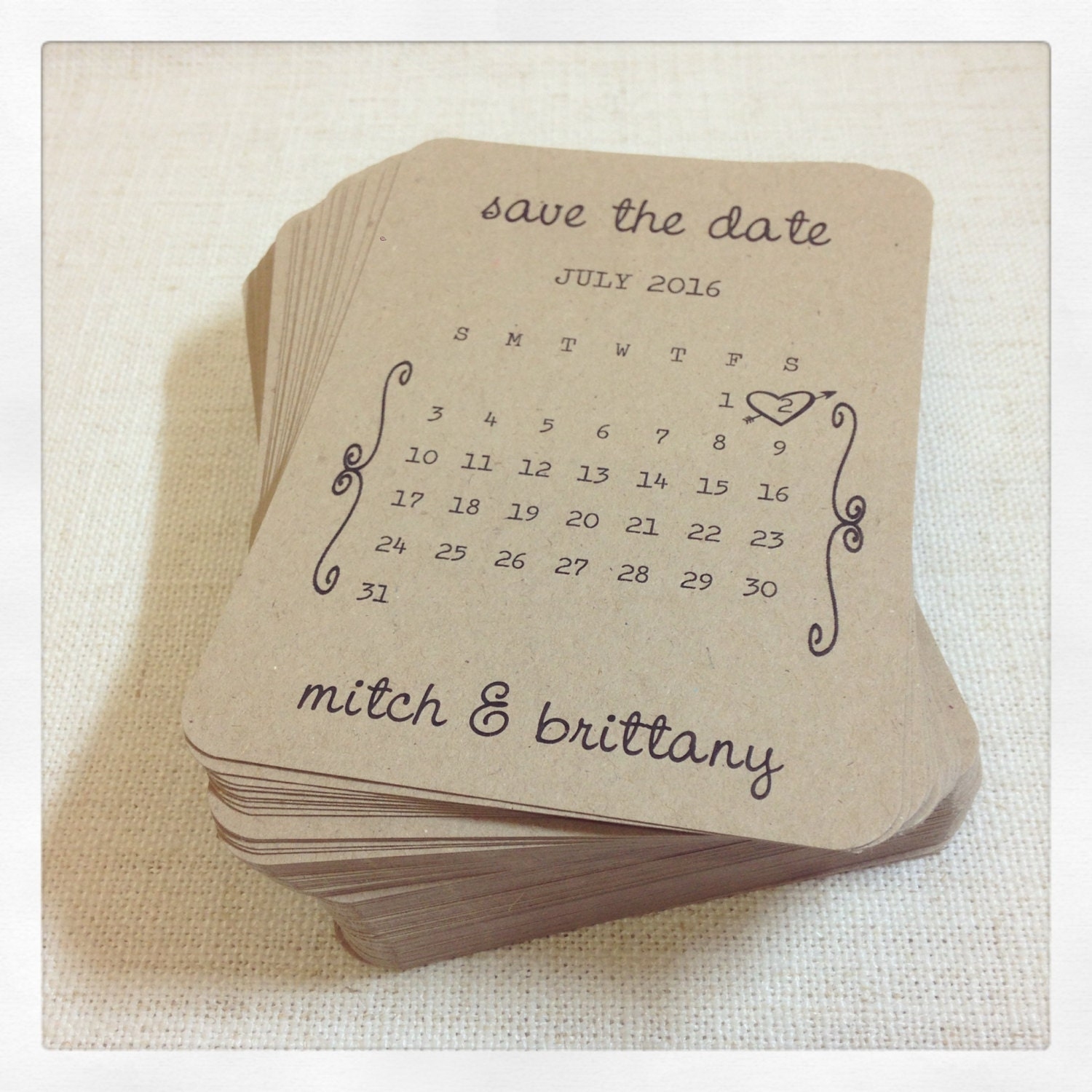 Save The Date Cards Rustic Wedding Save The Date Cards