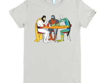 Space Ghost T-Shirt (Multiple Colors & Sizes) (Space Ghost: Coast to Coast) (Womens)