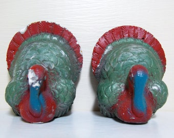 Turkey Chalkware Bird Carnival PrizeFigures Gobble Gobble