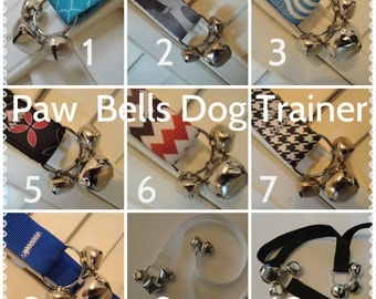 Poly Webbing, Heavy Duty Dog Training Bells, Paw Bells, Dog Potty Trainer, Instructions included