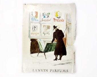 1955 Lanvin Parfum Ad