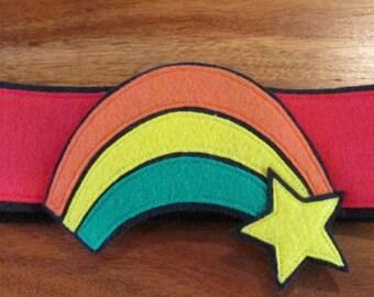 Rainbow Brite Belt / Kids Belt / Kids costume / Rainbows / Felt Belt