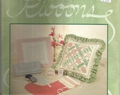 SALE Embroidery Patterns Hardanger Ribbons by Janice Love ©1989 Christmas Stocking Pillows Embroidery Designs Embroidery Stitches Projects