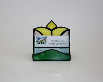 Business Cardholder Stained Glass