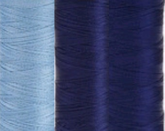 Sulky Rayon Embroidery Thread - blues