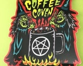 Coffee Coven Sticker