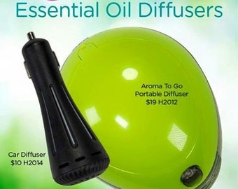 New! Car and Portable Essential Oil Diffusers