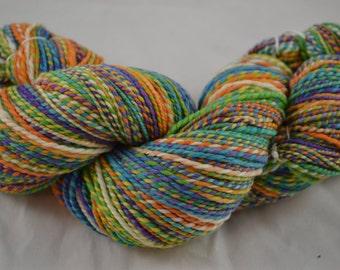 "Handspun DK weight yarn 80's Merino ""Selah"" - 266 yards"