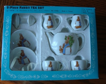 Rabbit Tea Set 1974