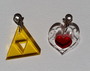 Legend of Zelda Zipper Pulls