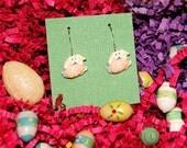 easter earrings easter bunny earrings easter egg earrings brockus creations holiday earrings novelty earrings
