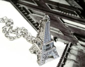 Eiffel Tower Necklace Paris Jewelry Travel Europe Women Teen Tween Gifts Trending Jewelry