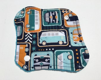 "Cloth Panty Liner 8"" Keep On Groovin"