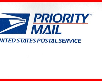 USA  PRIORITY UPGRADE, Domestic upgrade from standard to Priority shipping, 1-3 bus days