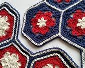 US terms Hoya Hive Hexies Crochet Pattern