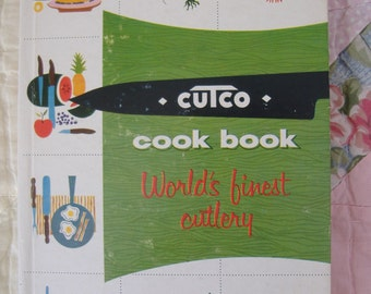Cutco Meat and Poultry Cook Book, 1961, Hardcover