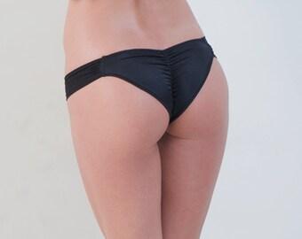 Sexy Bikini Bottom Micro Scrunch Back Swimwear Bikini Bottom - Tulum