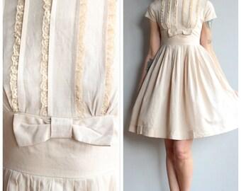 1950s Dress // Sweet Sue Dress // vintage 50s dress