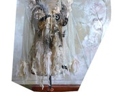 RESERVED For Nadia A Bit Gold A Bit Spider's Web A Bit Fog Lots of My Art and We have WONDERFUL JACKET :))) Fairy Antoinette Tattered