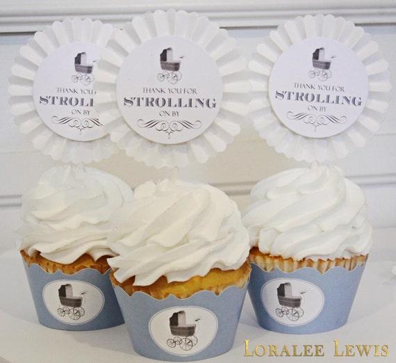 Pram Cameo Cupcake Kit by Loralee Lewis