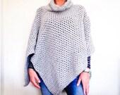 CROCHET PATTERN, The Park City Poncho, Crochet Poncho Pattern, Easy Poncho Pattern, Crochet Poncho Pattern, Crochet Sweater Pattern, Pattern