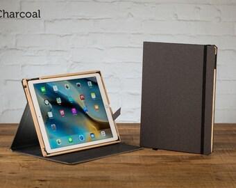 The Contega Linen Case for iPad Pro 12.9 - Charcoal
