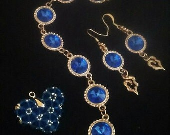 Forever Blue Jewelry Set