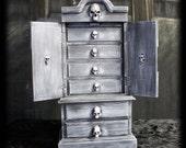 """Decorative Jewelry Box """"Halloweenified"""""""