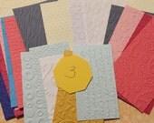 Scraps Embossed Cardstock - 3
