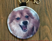 personalized POUCH for earbuds / coins / cards / small items - email your favorite image
