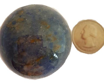 40mm Blue Aventurine sphere