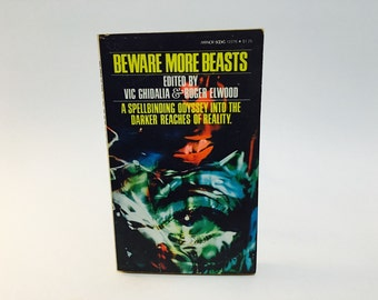 Vintage Horror Book Beware More Beasts 1975 Paperback Anthology