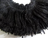 BLACK color brush fringe