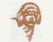 Goldendoodle Tea Towel | Personalized Kitchen Towel | Kitchen Towel | Embroidered Tea Towel | Embroidered Towel | Embroidered Kitchen Towel