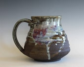 Ceramic Mug, 22 oz, unique coffee mug, handmade cup, handthrown mug, stoneware mug, wheel thrown pottery mug, ceramics and pottery