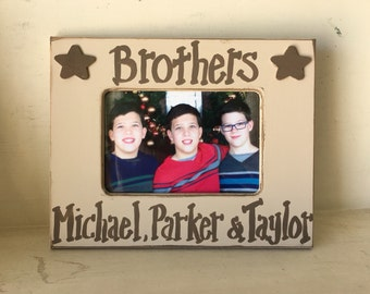 4x6 Bothers Frame in Khaki and Mocha