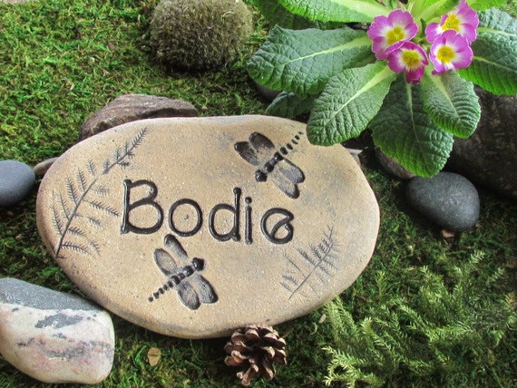 personalized garden stone unique nature inspired gift