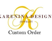 Custom order for Sharmin - Statement Wedding Necklace - Last Payment